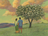 couple looking at tree