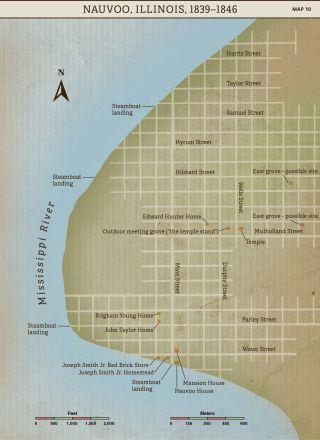 Church History Maps: Nauvoo, Illinois, 1839-1846
