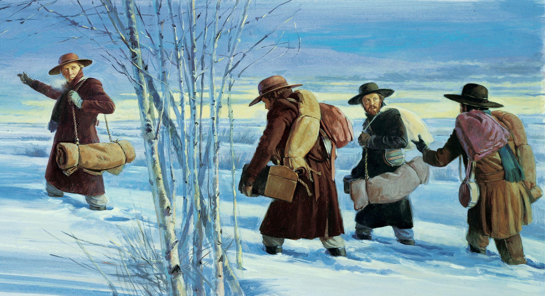 """Go Into the Wilderness,"" by Robert T. Barrett."