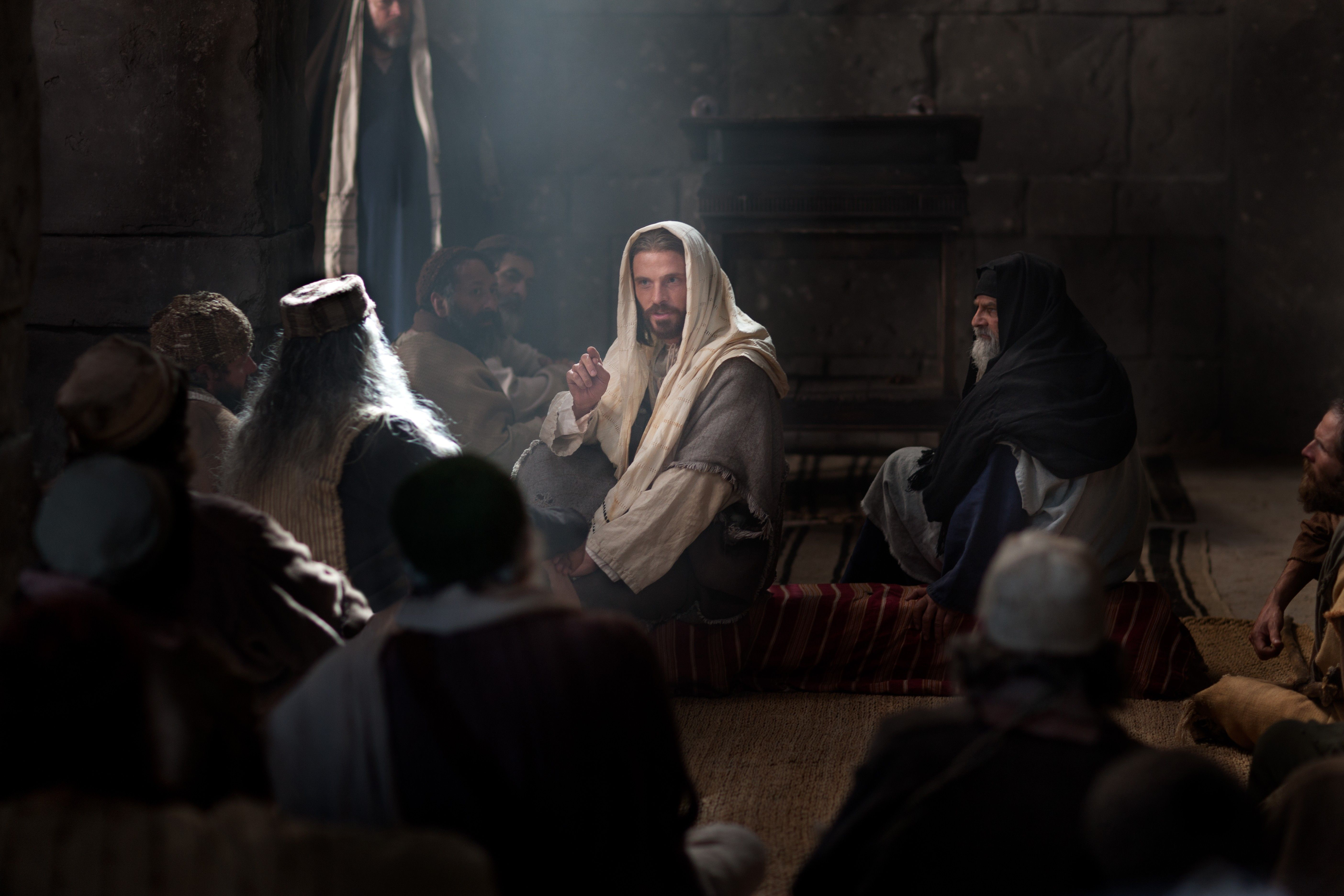 Jesus declares that He has fulfilled the prophecy of the Messiah.