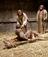 Jesus Christ healing a man
