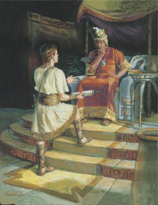 Ammon and King Lamoni