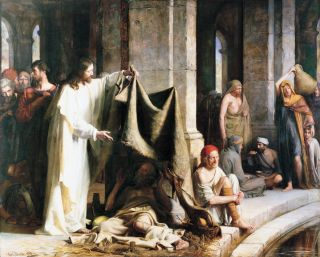 Christ Healing the Sick at Bethesda