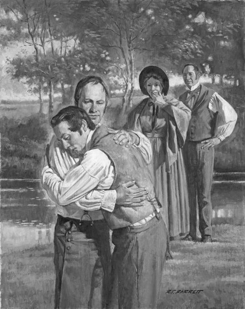 Joseph Smith Sr. Baptism, on the Shore