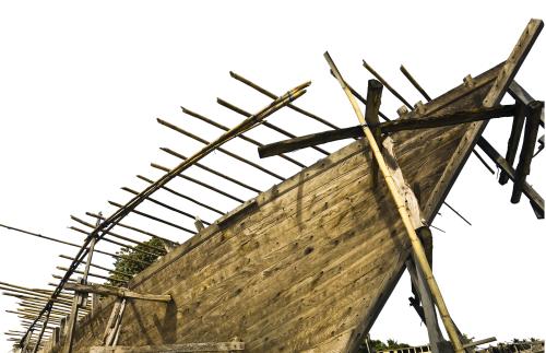 Half Built Boat