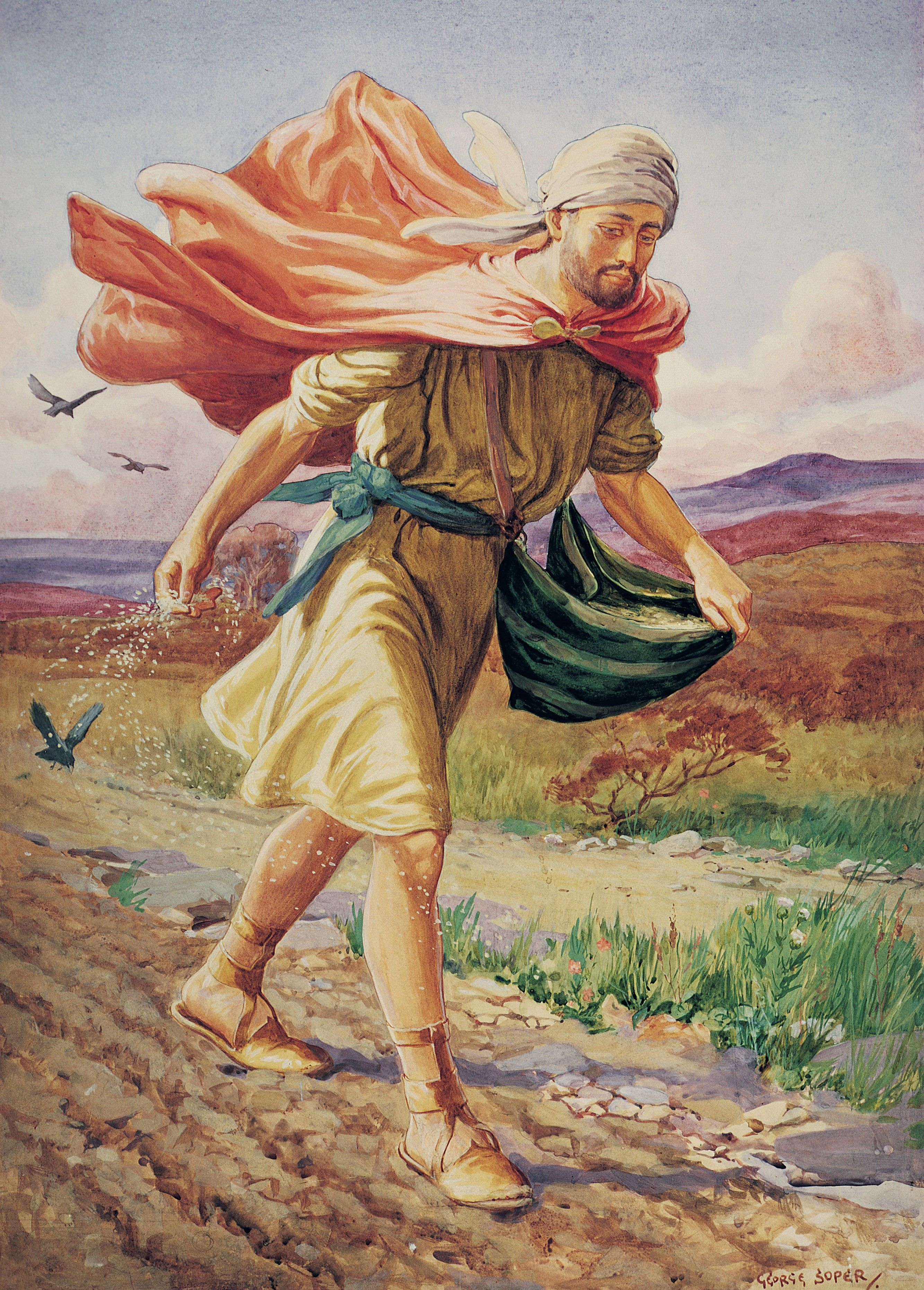 The Sower, by George Soper