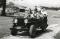Benson family in jeep