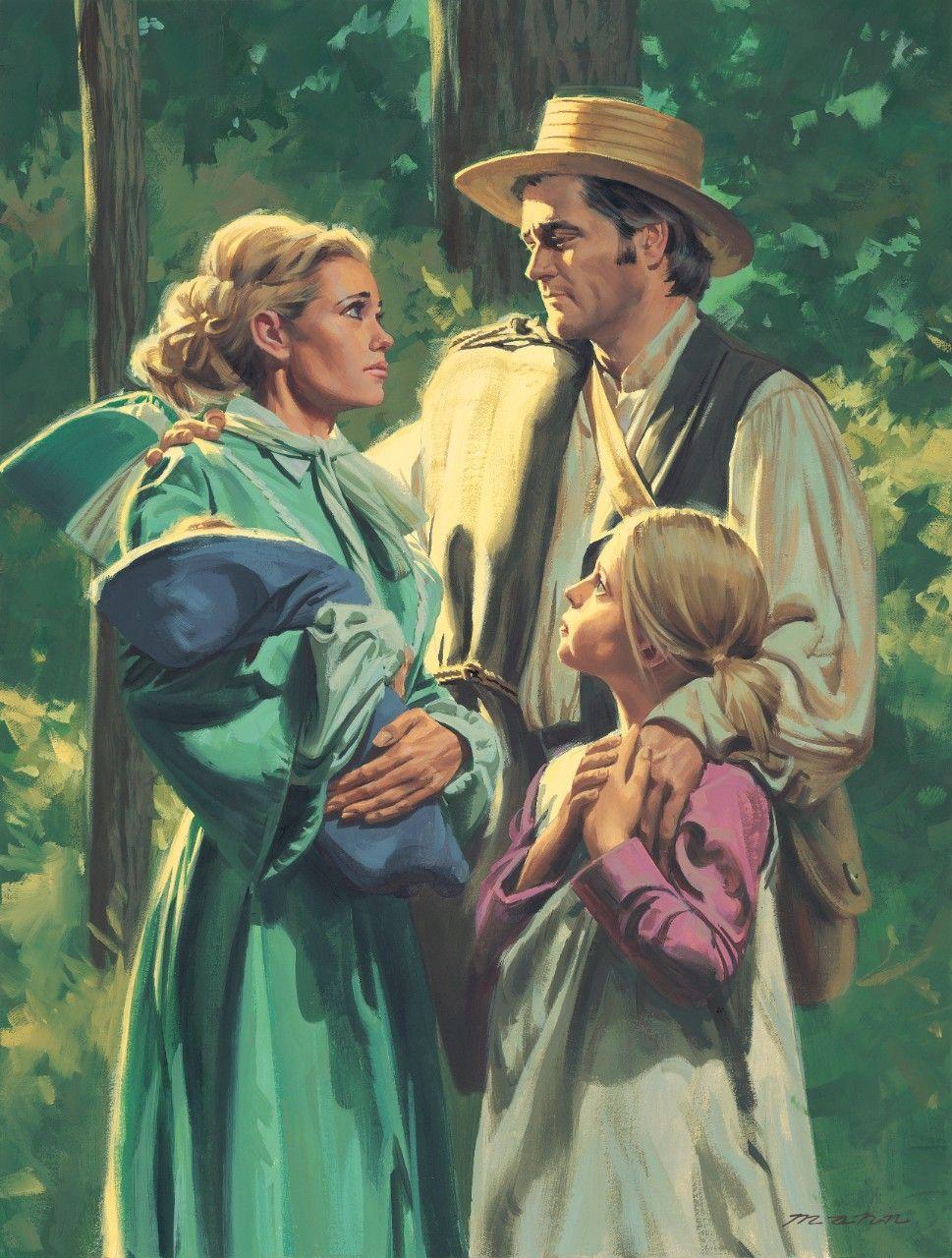 Mormon Battalion, by Paul Mann