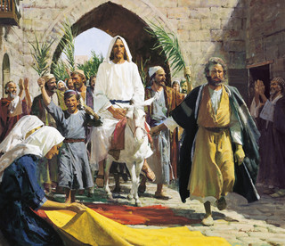 Christ's Triumphal Entry Into Jerusalem, by Harry Anderson
