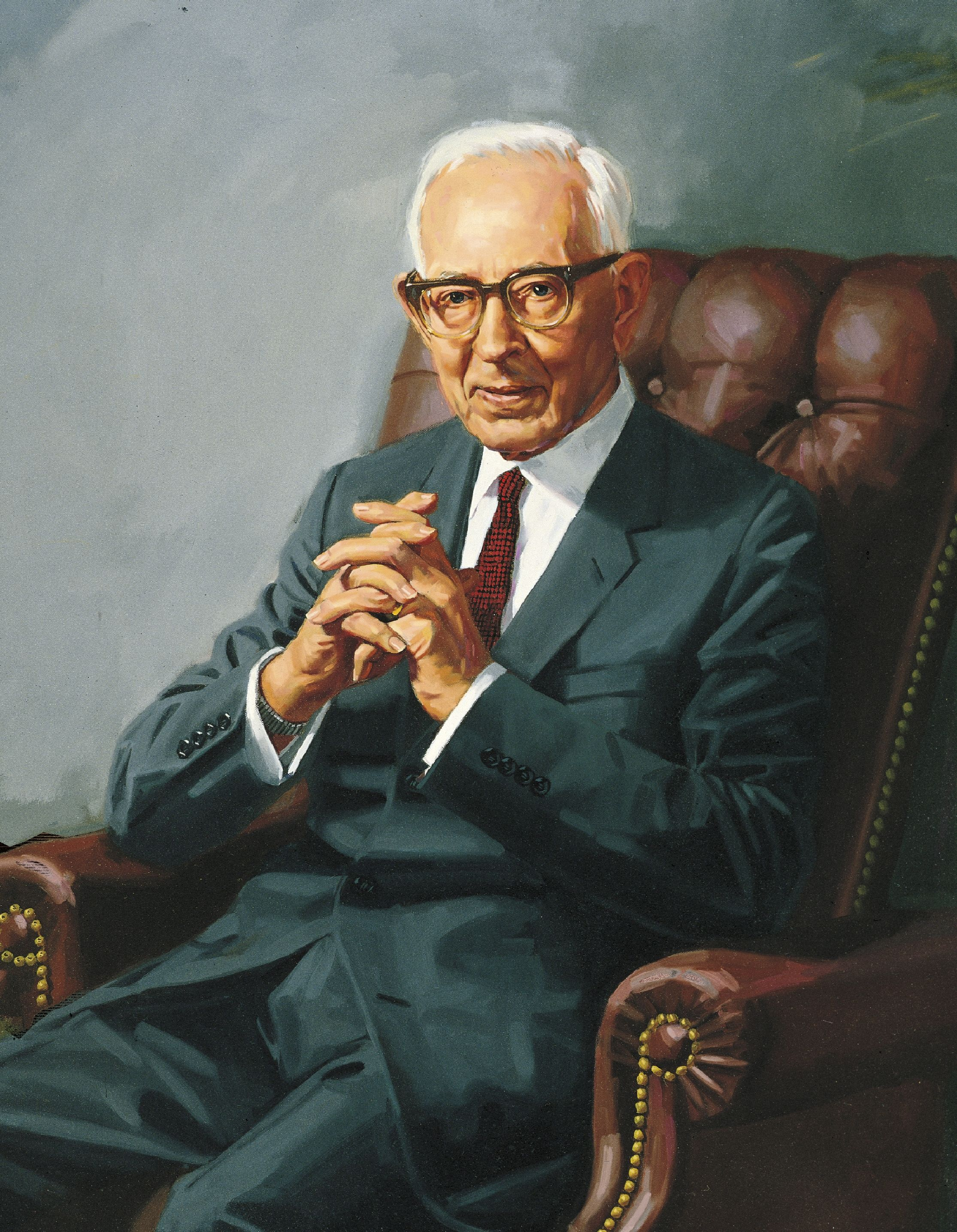 Joseph Fielding Smith, by Shauna Clinger; GAK 515; Our Heritage, 121–23