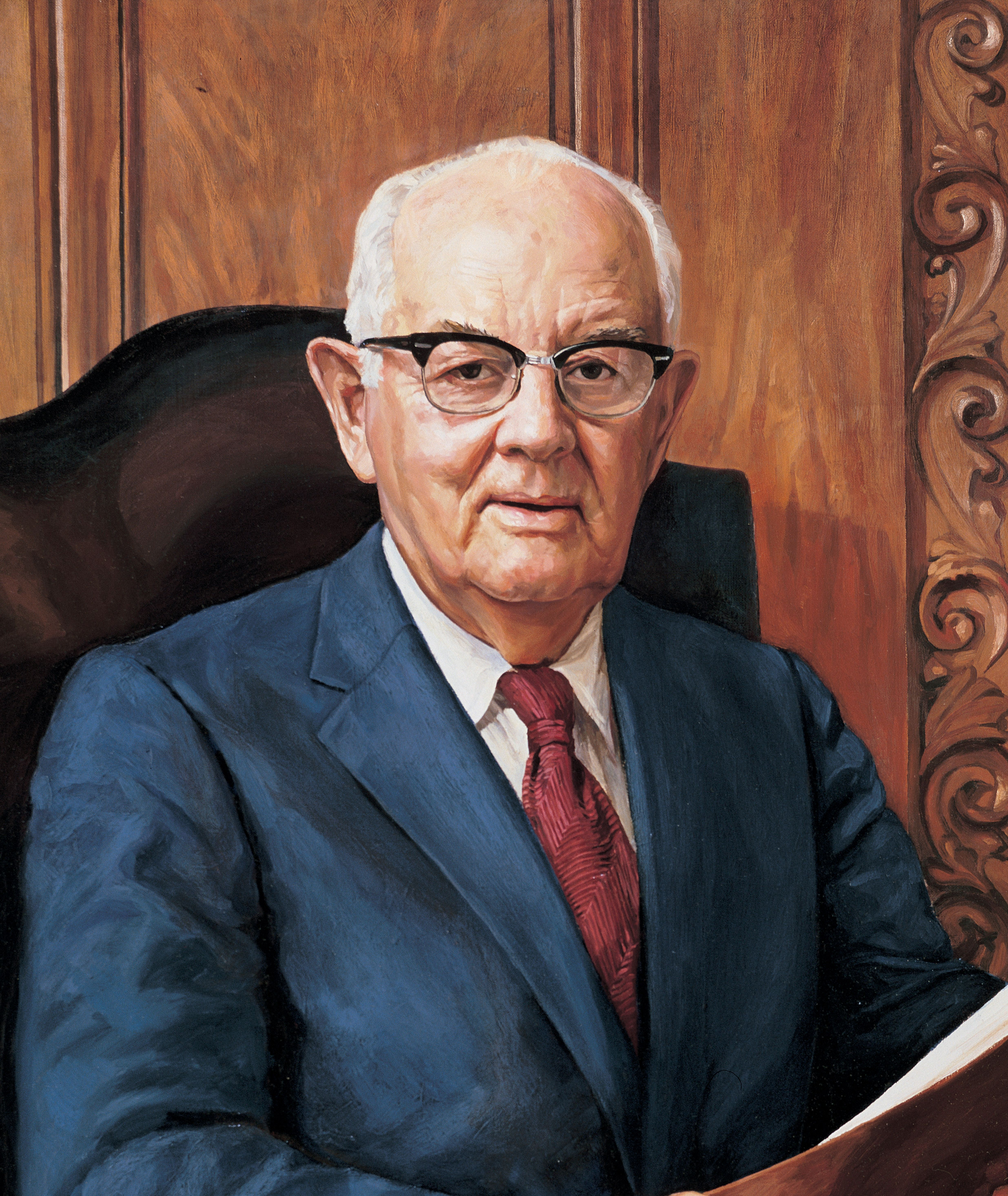 Spencer W. Kimball, by Judith A. Mehr. President Kimball served as the 12th President of the Church from 1973 to 1985.