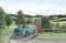 drive through English countryside