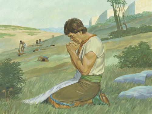 Ammon praying