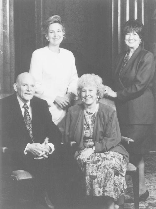 Howard W. Hunter and family