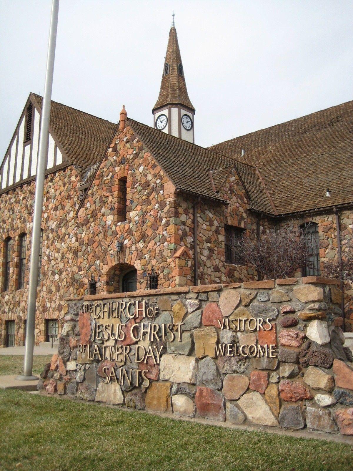 A rock chapel in Cedar City, Utah.