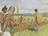 Lamanites watching people in field