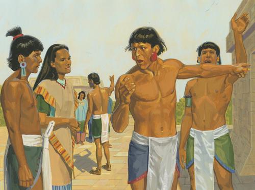 Lamanites talking