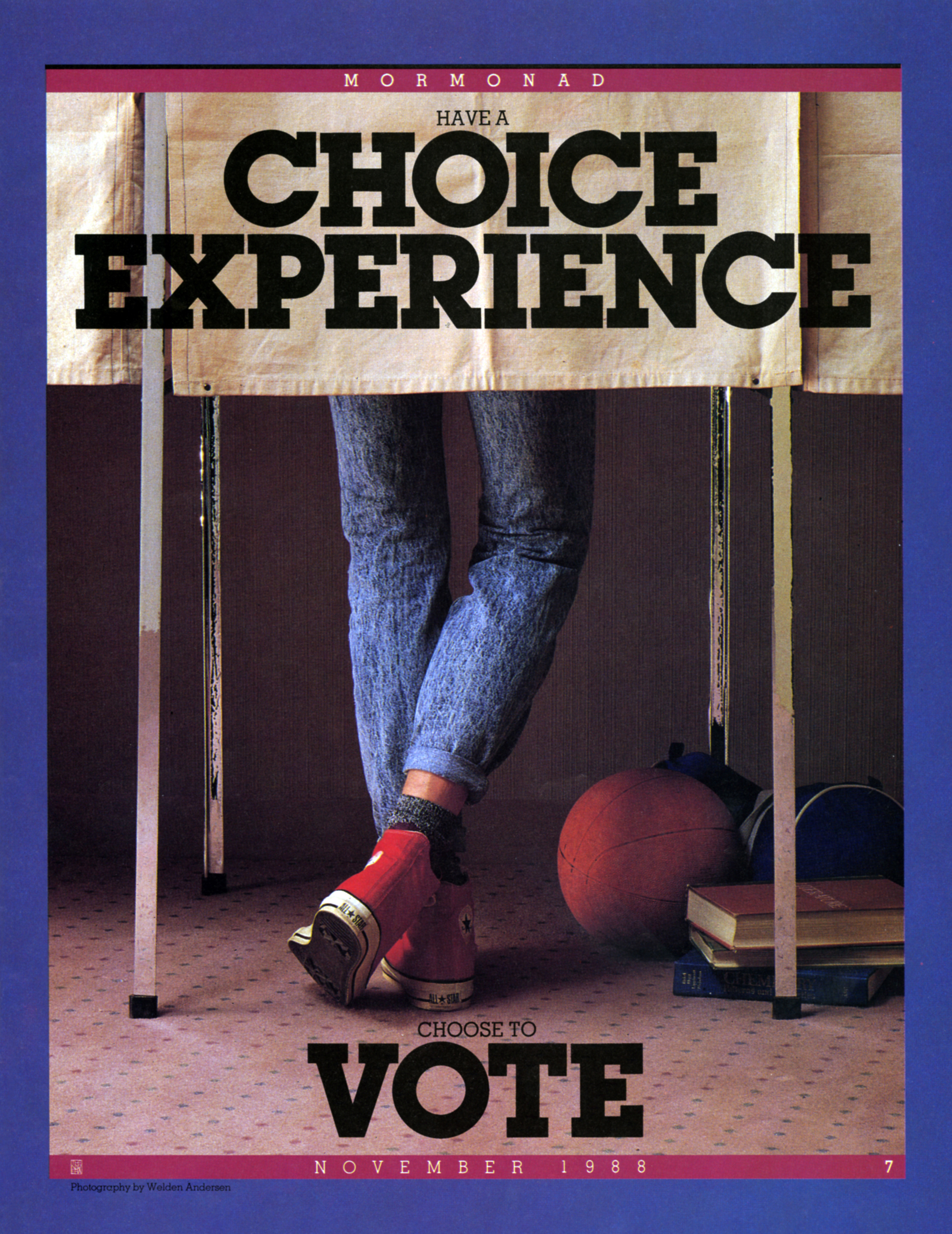 Have a Choice Experience. Choose to Vote. Nov. 1988 © undefined ipCode 1.