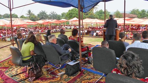 Elder Andersen in Democratic Republic of the Congo