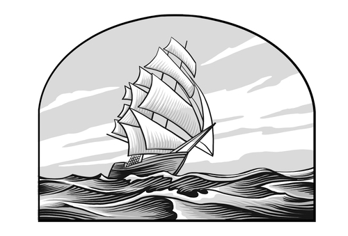 Saints V2 illustration - Ship Brooklyn