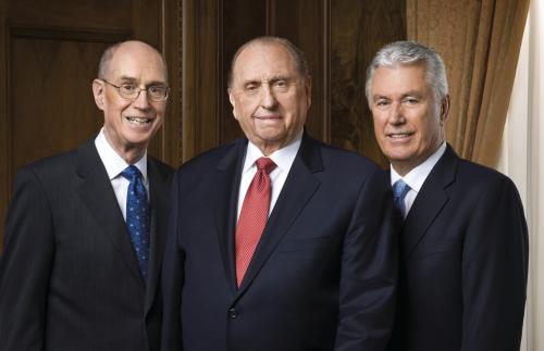 First Presidency. 2011