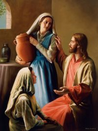 Christ in the Home of Mary and Martha