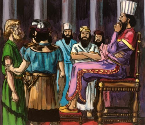 Chapter 43: Daniel and the Lions' Den