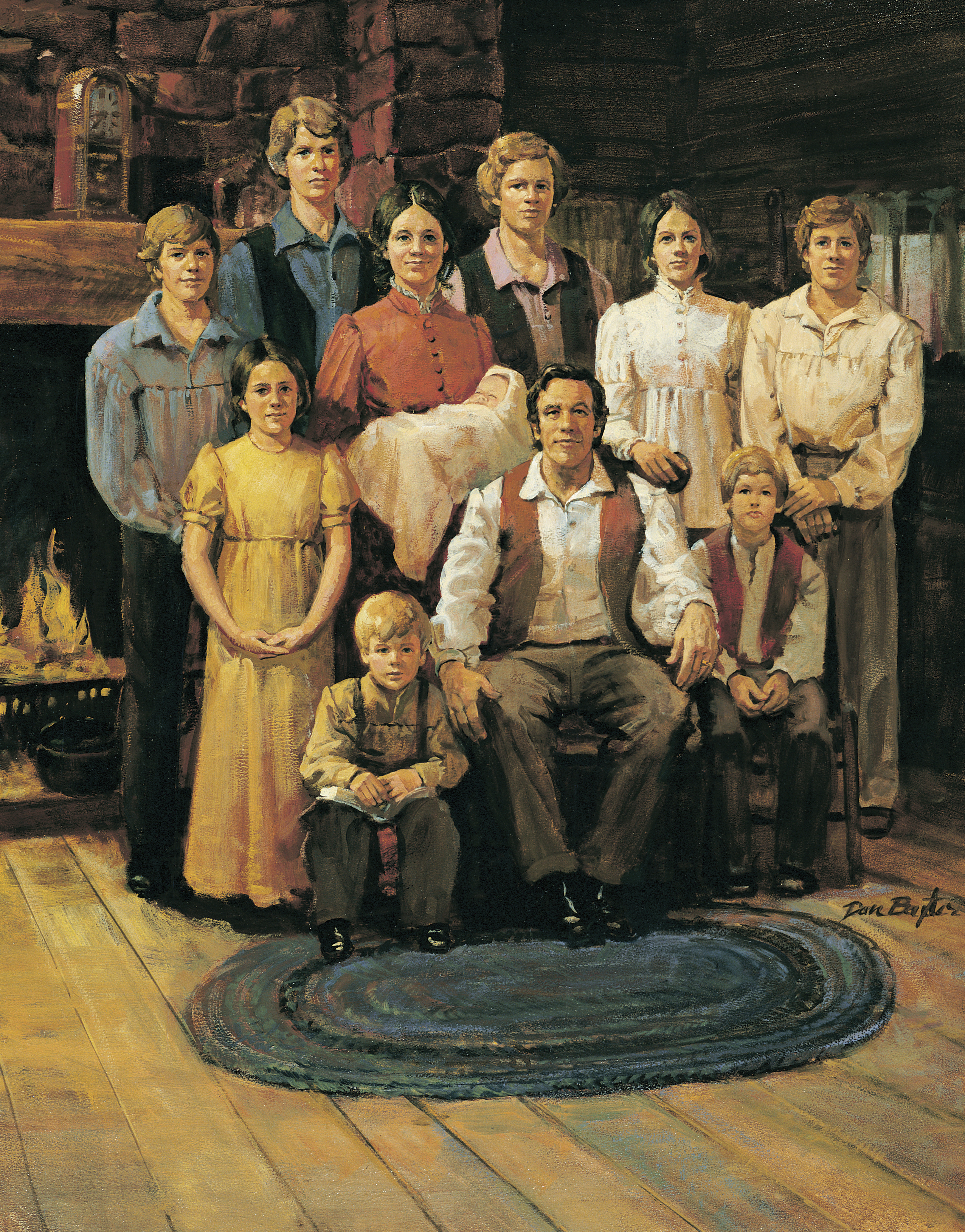 Joseph Smith Family, by Dan Baxter; Primary manual 3-7; Primary manual 5-3
