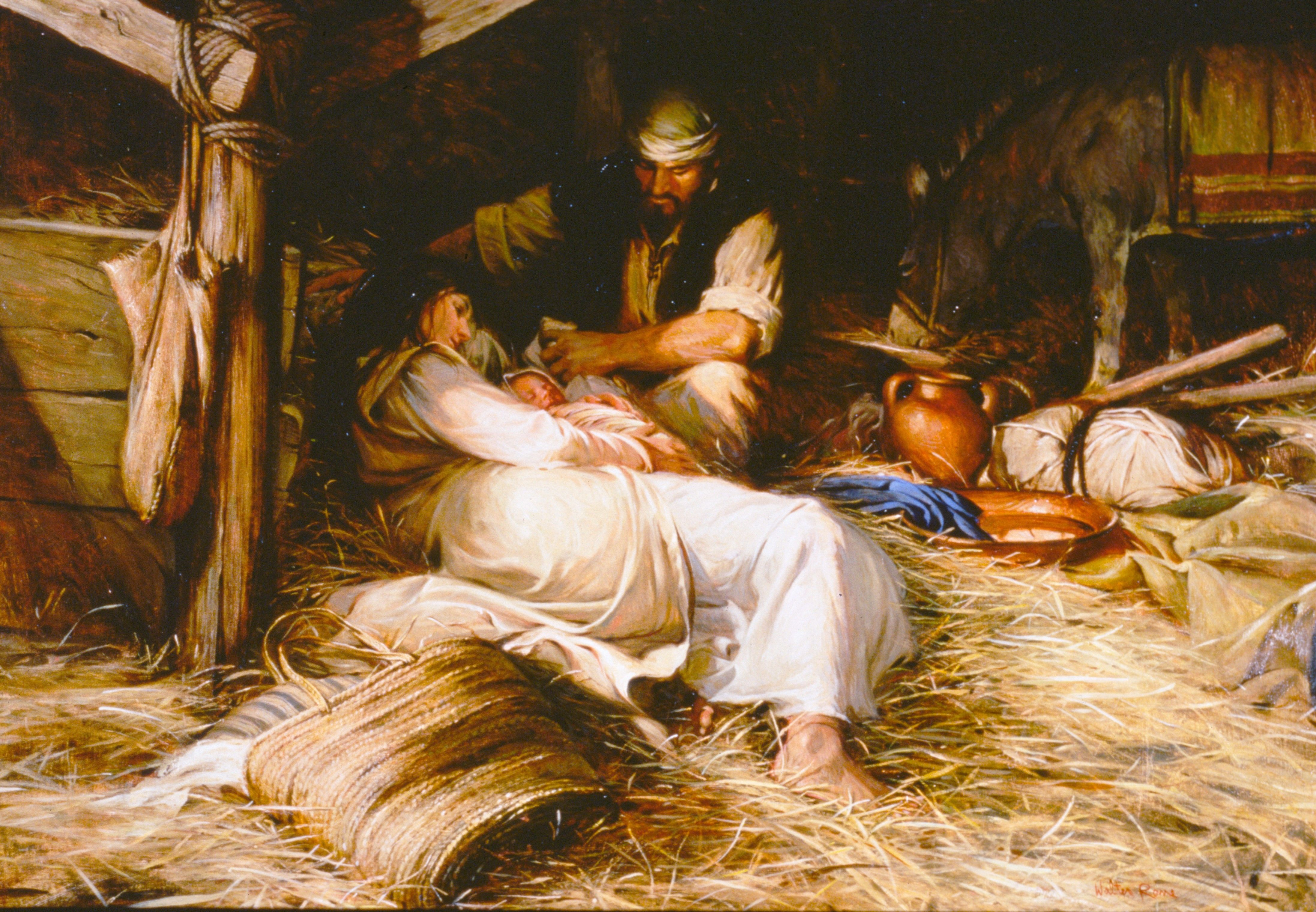 Behold the Lamb of God, by Walter Rane
