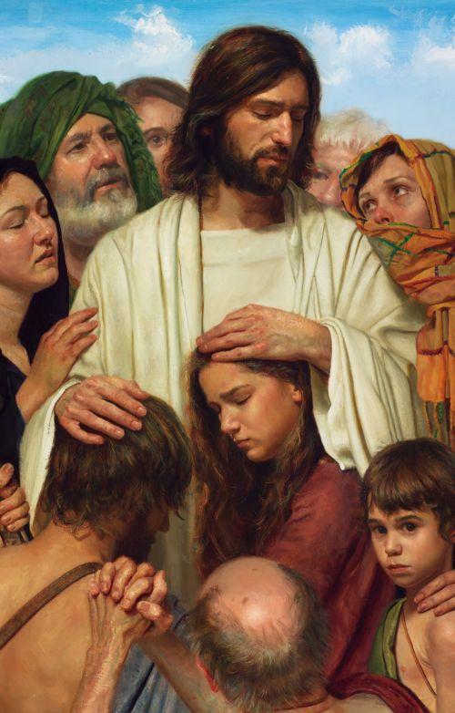 Christ Heals the Sick